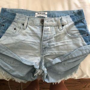One Teaspoon Jean shorts